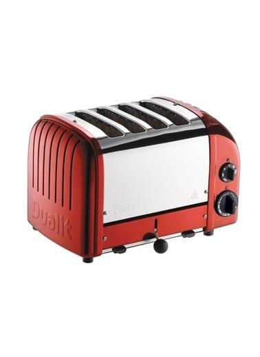 Dualit Dualit 47031 Classic Koruyucu Kaplama Zırhlı Extra Geniş 4 Hazneli Ekmek Kızartma Makinesi Renkli